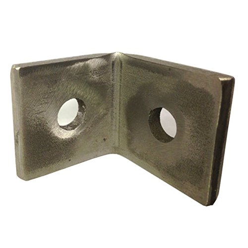 M10 2 Hole Angle Plate (1068) for Channels T304 Stainless Steel (As Unistrut / Oglaend) Pack Size : 1