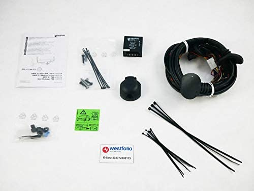 Westfalia Automotive 303372300113 Wiring Kit 13 Pin And Vehicle Specific X1 F48 10 15 X2 F39 11 17 Bmw 2 Series Active Gran Tourer F45 F46 09 14 Mini Clubman Cooper S From 11 15 Auto