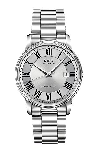 Mido Baroncelli III Automatic Analog Silver Dial Men's Watch M010.408.11.033.09