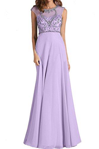 Lilac trapecio Vestido Topkleider mujer para nTIwf57qw