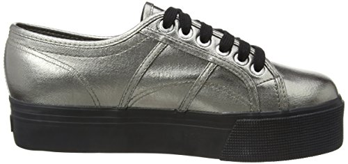 Cotmetw Superga Basses grey Black 2790 Femme Sneakers Gris 6q81U8H