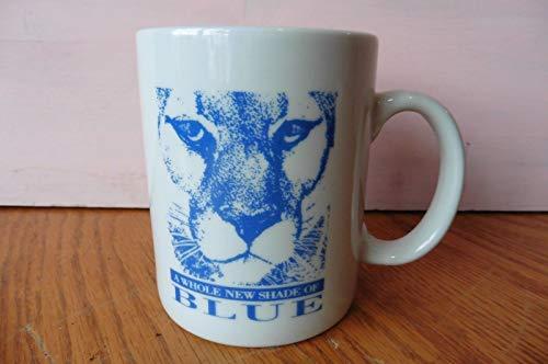 IBM Mug A Whole New Shade Of Blue Mountain Lion Head IBM Coffee Cup Mug Cougar ()