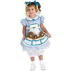 Cute as Can Be Toddler Costume, Goldilocks