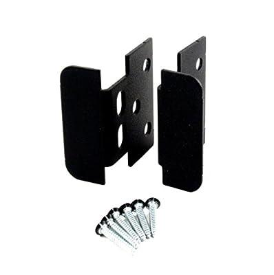Heavy Metal Lockable Hasp and Handle - Black Powder Coat