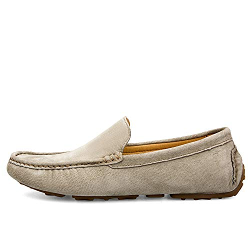 leggero basse Dimensione 0cm kaki Mocassino comfort Scarpe Mocassino da 38 uomo 0cm in 24 27 EU pelle unico gommino 3 design basse Dimensioni da Scarpe scamosciata Morbido 2 gommino e uomo qSwRF0gxS5
