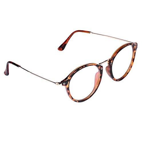 Embryform Campus miroir minces lunettes de cadre cadre des lunettes de cadre en m¡§?tal bross¡§? r¡§?tro litt¡§?raire 9738 fkGHK4GEHu