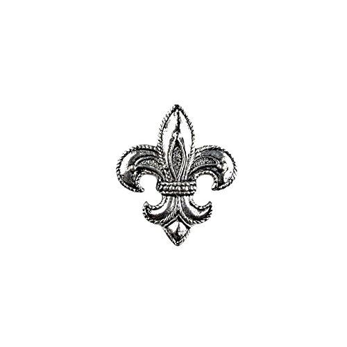 Fleur De Lis Tie Pin - Quality Handcrafts Guaranteed Fleur de Lis Lapel Pin