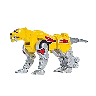 Power Rangers Mighty Morphin Sabertooth Tiger Zord Action Figure, Sabretooth Tiger Zord: Bandai: Toys & Games
