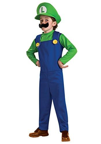 Big Boys' Luigi Classic Costume X-Large (Teen Mario Costumes)