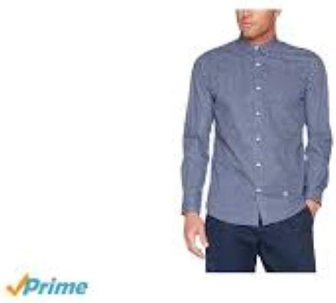 El Ganso 1050W170012 Camisa Casual, Marino, Blanco y Celeste, 40 para Hombre: Amazon.es: Ropa y accesorios