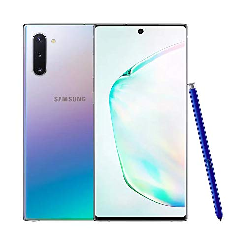 Samsung Galaxy Note10+ Mobile Phone; Sim Free Smartphone - Aura Glow (UK version)