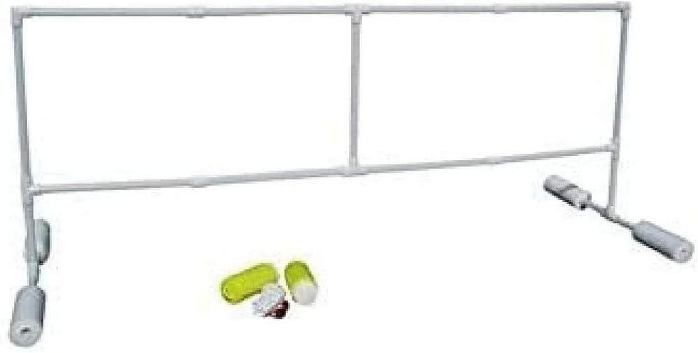 Softee Equipment 0019051 Red de Watervolley Voleibol Flotante, Blanco, S