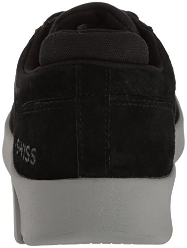 K-swiss Mens Aero Trainer Sde Sneaker Nero / Grigio Neutro