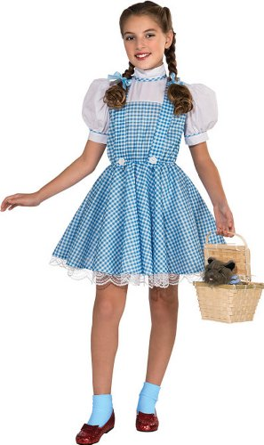 Womens Dorothy Halloween Costumes (Wizard of Oz Deluxe Dorothy Costume, Large)