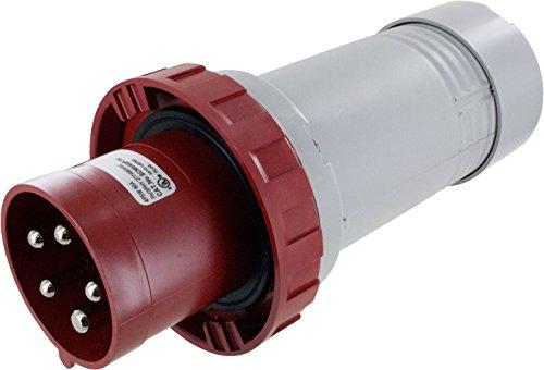 560P7W Pin & Sleeve Device Ip67 Male Plug 60A 3Phase 277/480 4P 5W Watertight