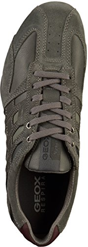 Homme Gris Uomo Anthracite Sneakers Basses Snake K Geox C9004 ZX4wRBqvB
