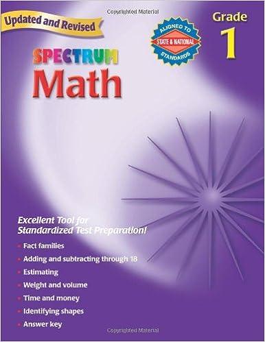 Spectrum math grade 1 thomas richards 9780769636917 amazon spectrum math grade 1 thomas richards 9780769636917 amazon books fandeluxe Images