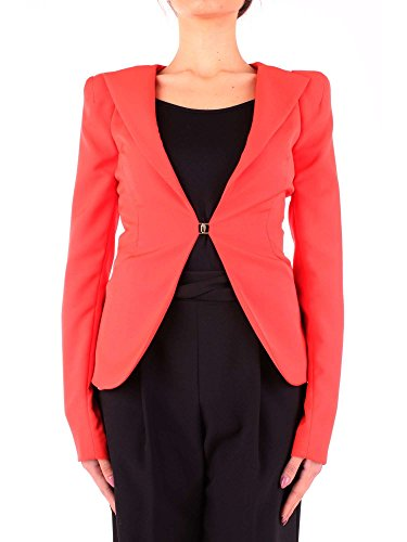 Donna Arancione Viscosa Mangano Blazer P18pmng00092orange wqTZ0x0gY