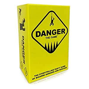 Danger The Game: The storytelling party game of bizarre dangers and rescues