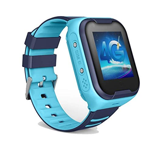 Fullwei Kids Smart Watch Phone for Android or iOS, A36E Positioning Anti-Lost Safe GPS SOS SIM Call Pedometer Touchscreen Watch Gifts for School Boy Girls (Blue)