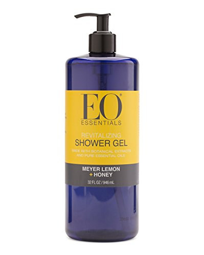 EO Meyer Lemon Plus Honey Shower Gel 32 Ounce