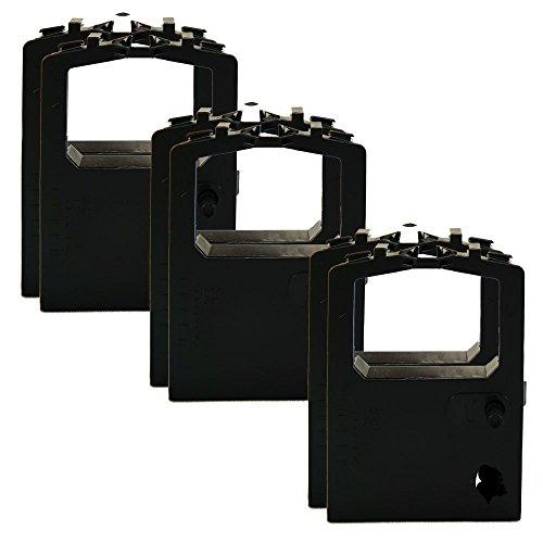 6 Pack Compatible Replacement Okidata OKI Black Ribbons MicroLine ML-180 ML-182 ML-184 ML-320 ML-390 ML-391 320 420 Turbo 52102001 52104001