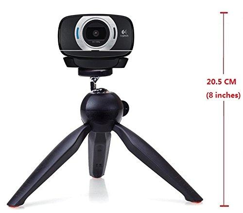 42pcs/lot Webcam Tripod Mount Holder Stand for Logitech Webcam C930e C930 C920 C615 (Black) by Bulk4buy