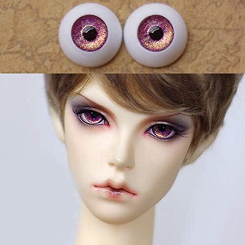 アリスの人形屋ゴールデン紫 bjd 人形 bjd 人形おもちゃ sd 眼球 1/3 1/4 1/6 8 ミリメートル 14 ミリメートル 16 ミリメートル 18 ミリメートル 20 ミリメートルアクリル目人形
