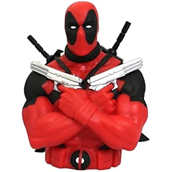 Marvel Deadpool Bust Bank