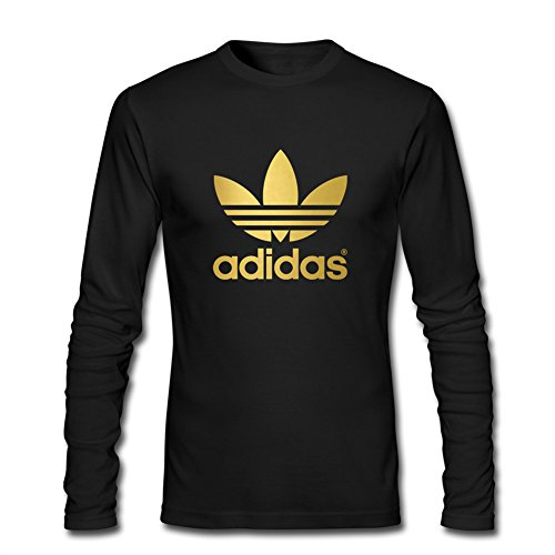 Klein CO Adidas Gold Logo Men's Long Sleeve T-Shirt