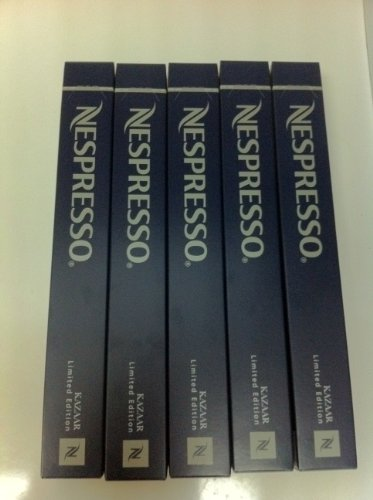 Nespresso OriginalLine: Kazaar, 50 Count - ''NOT compatible with Vertuoline''