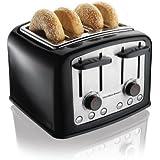 Hamilton Beach Smart Toast Extra-Wide 4-Slice Slot Toaster (24444)