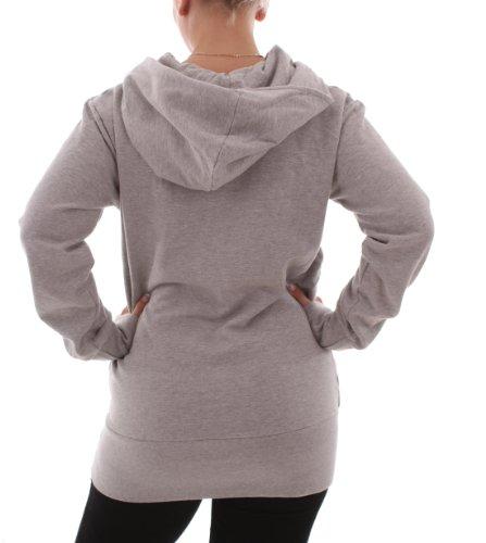 RVLT Female - Sudadera con capucha - para mujer gris