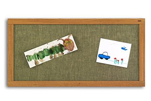 Marsh School Kids Crafts 48x96 Cotton Vinyl Bulletin, Oak Wood Trim electronic consumers