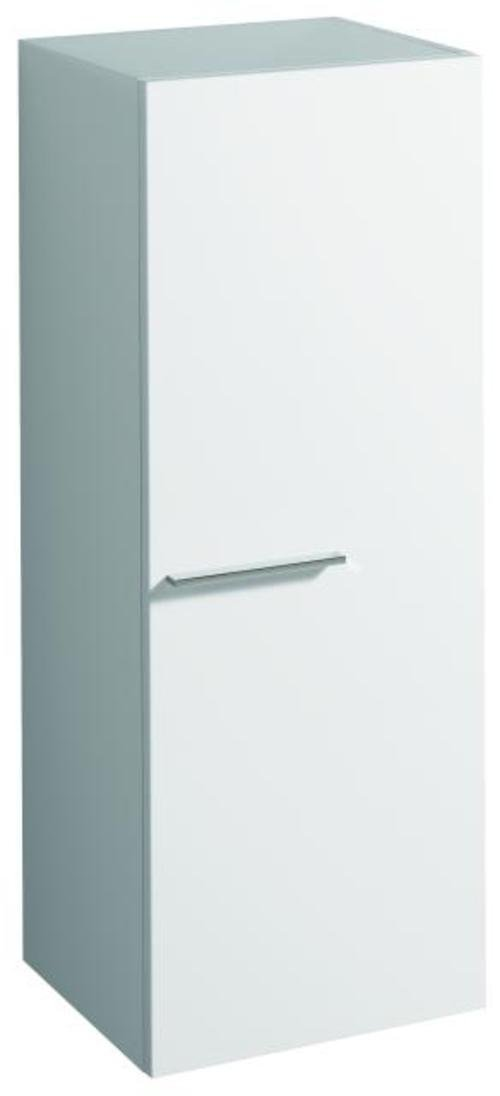 Keramag Seitenschrank Silk 400x350x1035mm Weiß Hochglanz