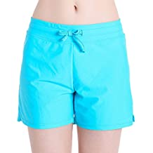 HOLYSNOW Women's Stretch Board Short | Briefs Inner Lining | Comfort Quick Dry