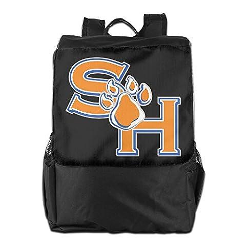 AIJFW Outdoor Travel Bag - Sam Houston State University Unisex Backpack Daypack Bookbags Rucksack Shoulder (Digimon Travel Mug)