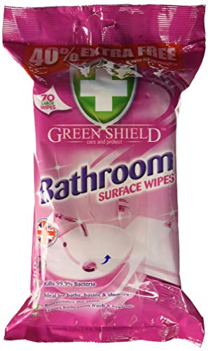 Greenshield Bathroom Surface Wipes – Pack of 70 Price & Reviews