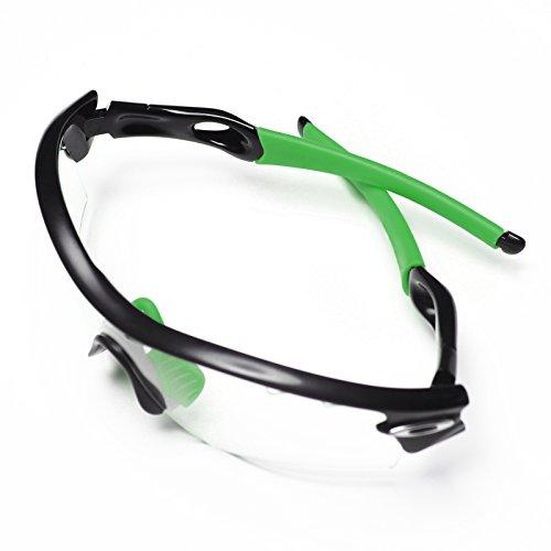 Radar gafas gama calcetines 8 para paso Oakley almohadillas sol de MRY nbsp;colores Path de Verde PqYvcx
