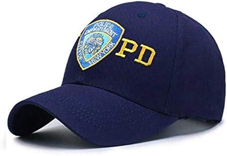 QOHNK Bordado NYPD Policía Gorra De Béisbol Mujeres Al Aire Libre Ejército Sombrero Casual Papá Sombrero para Hombre Táctico Gorra: Amazon.es: Deportes y aire libre