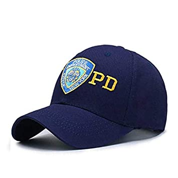 QOHNK Bordado NYPD Policía Gorra De Béisbol Mujeres Al Aire Libre ...