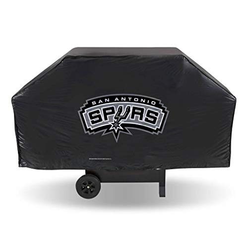 Football Fanatics NBA San Antonio Spurs Black Grill Cover by Football Fanatics