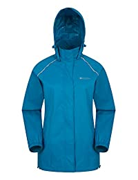 Mountain Warehouse Pakka Womens Rain Jacket – Packable, Waterproof