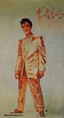 orig. US Import Elvis Presley Oro. Traje 9 x 5 x 0,1 cm placa ...