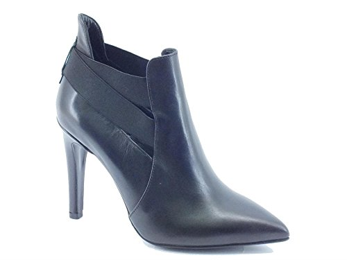 CAF NOIR zapatos negros MC146 mástil talón toma la punta elástica negro
