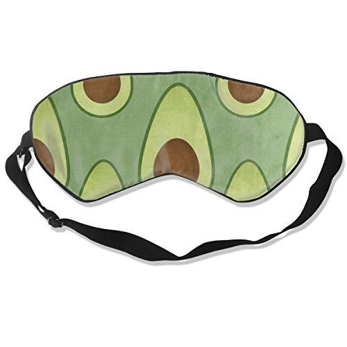 All agree Sleep Mask Avocado Fruit Eye Mask Cover Adjustable Strap Eye Shades Travel, Nap, Meditation, - Fruit Nyx