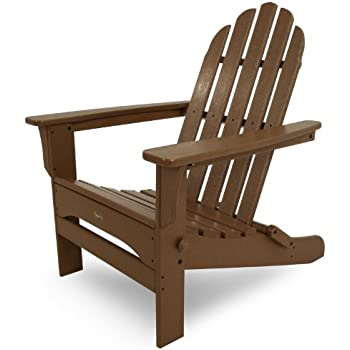 Trex Outdoor Furniture Cape Cod Folding Adirondack Chair, Tree House