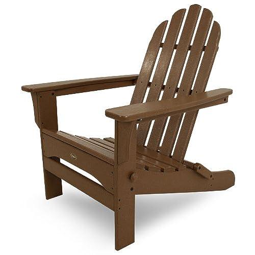Trex Outdoor Furniture Cape Cod Folding Adirondack Chair, Tree House