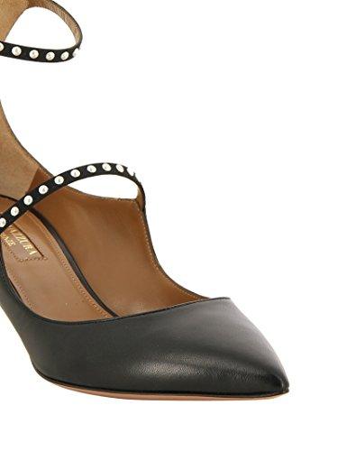 Talons Noir NOLMIDP0NAP000 Femme Chaussures AQUAZZURA Cuir À OEWYR7UqZ