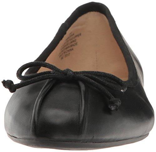 Women's Ballet West Flat Metallic Batoka Nine Black I75wqw